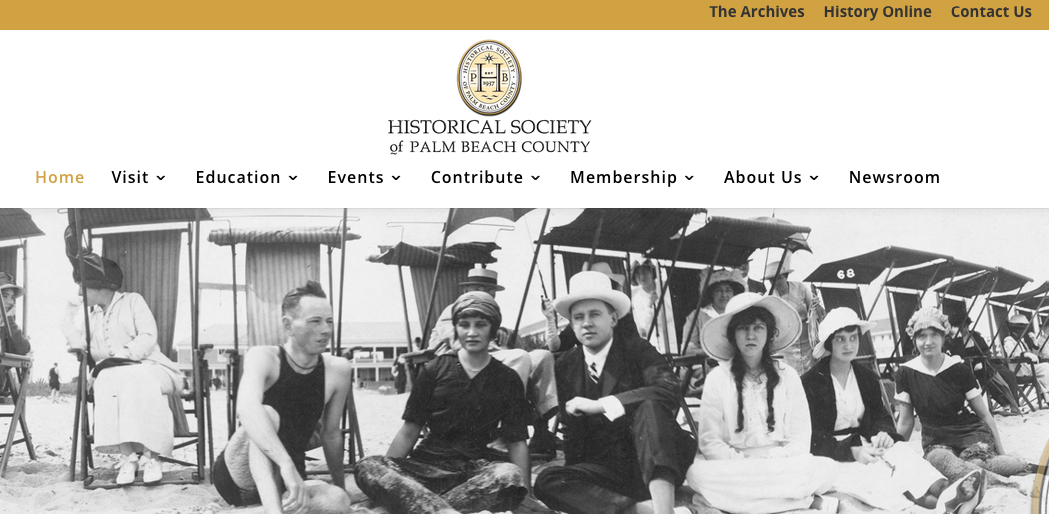 Mediasophia Announces Launch of New Website for the Historical Society of Palm Beach County